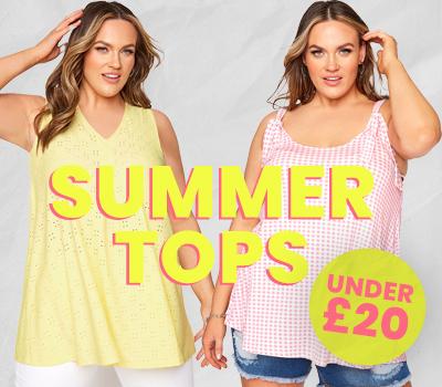 10 Plus Size Summer Tops Under 20
