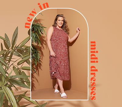 New In Plus Size Midi Dresses You Need For Summer 2021