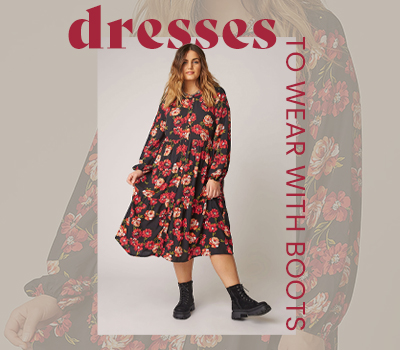 Plus Size Dresses To Wear With Boots