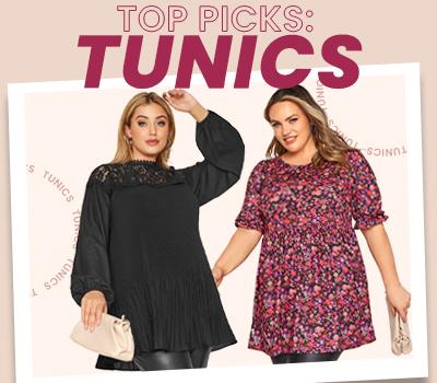 Our Top Picks: Plus Size Tunics