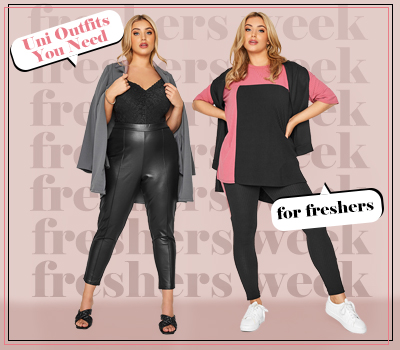 Plus Size Outfit Ideas For Freshers Week