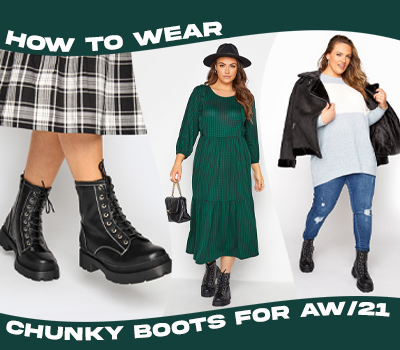 How To Wear Chunky Boots For A/W21