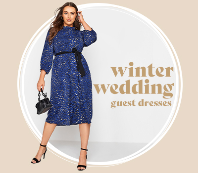 Winter Wedding Guest Dresses For Plus Size Women